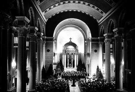 Milwaukee's Cathedral, before...