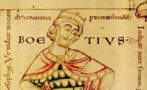 Boethius 480-525 A.D.