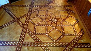 Beautiful original floors, covered for years by carpet.
