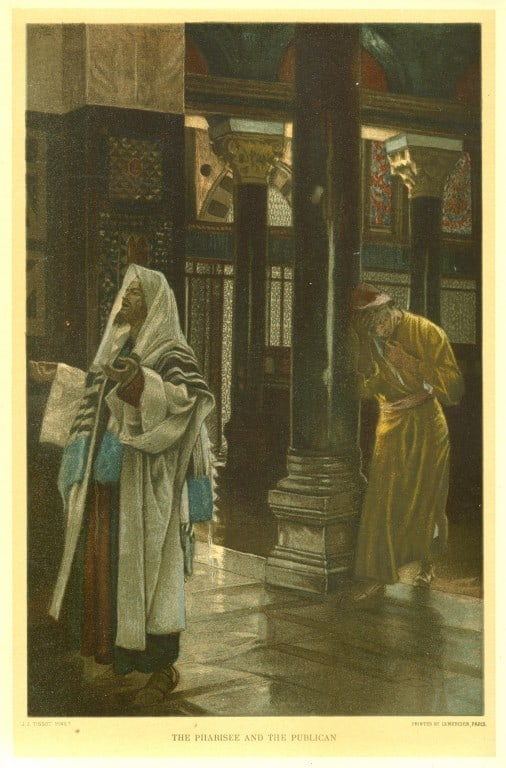 Jacques Joseph Tissot's The Pharisee and the Publican